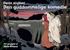 Tegneseriehæfte med en gendigtning af Dantes Guddommelige Komedie fra middelalderen.